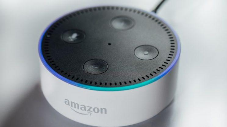 The Echo Dot costs 1/3 as much as its big brother.