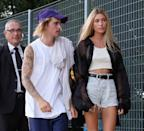 <p>Justin and Hailey were pictured front row at the John Elliot New York Fashion Week show.</p>