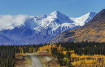 <p>Canada secured the eighth spot. It's renowned for the stunning landscapes of the Yukon Mountains. (Picture:REX) </p>