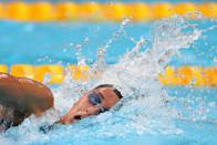 <p>Simona Quadarella of Team Italy competes in the Women's 800m Freestyle Final at Tokyo Aquatics Centre on July 31, 2021 in Tokyo, Japan. (Photo by Maddie Meyer/Getty Images)</p>