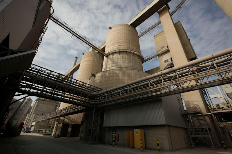 A cement factory in The Netherlands. Cement has a huge climate footprint and is responsible for around 8% of global CO2 emissions. (Photo: ASSOCIATED PRESS)