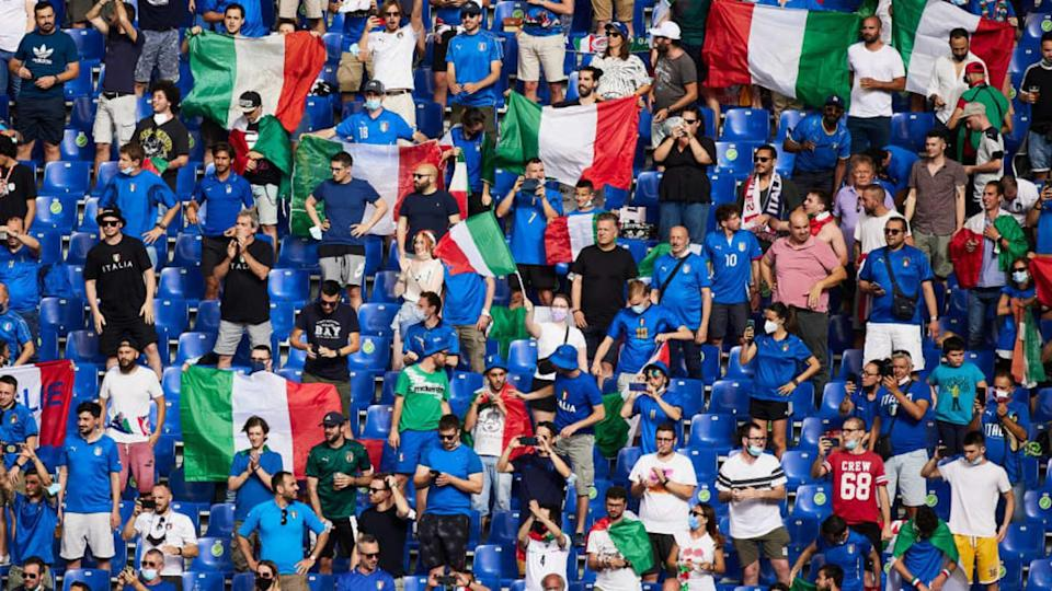 I tifosi dell'Italia   Quality Sport Images/Getty Images