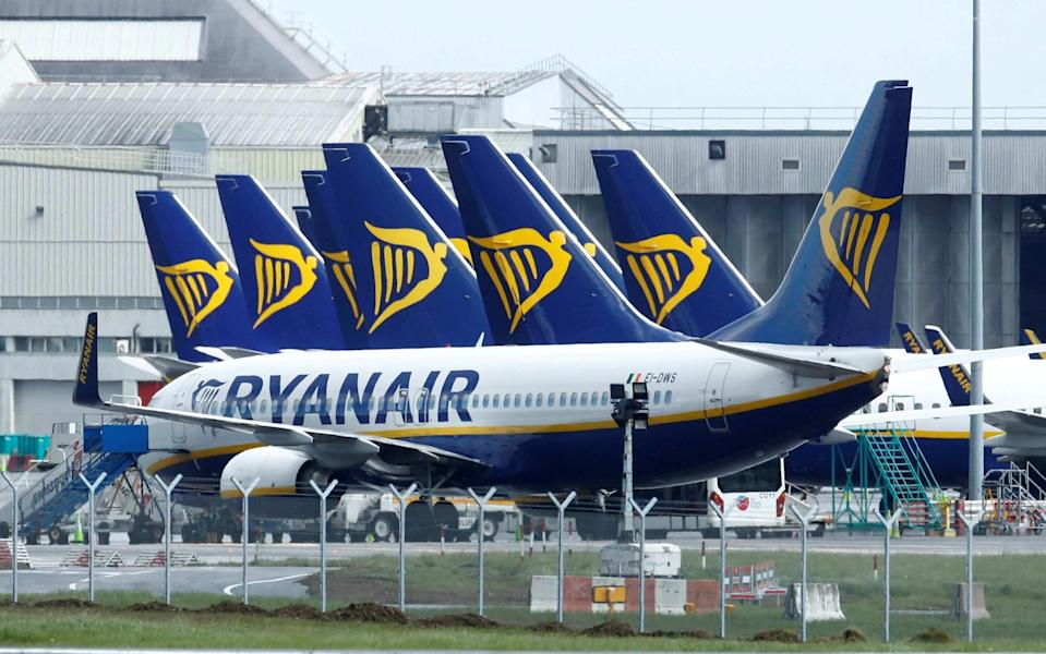 Ryanair has restored 60% of its August schedule - reuters