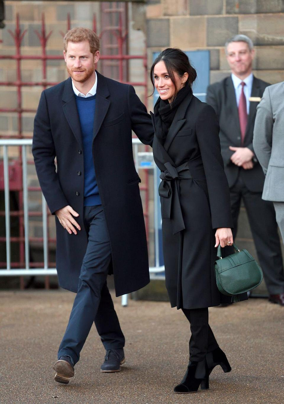 """<p>Meghan Markle married Prince Harry in <a href=""""https://www.cosmopolitan.com/entertainment/a22859393/meghan-markle-wedding-dress-display/"""" rel=""""nofollow noopener"""" target=""""_blank"""" data-ylk=""""slk:one of the most iconic royal weddings in history"""" class=""""link rapid-noclick-resp"""">one of the most iconic royal weddings in history</a>. She is yet another commoner to capture the heart of a royal. Markle, best known for her role on <em>Suits</em>, and Harry were set up on a date by a mutual friend. The two, who have been <a href=""""https://www.cosmopolitan.com/entertainment/celebs/a8673228/prince-harry-meghan-markle-dating-timeline/"""" rel=""""nofollow noopener"""" target=""""_blank"""" data-ylk=""""slk:linked since 2016"""" class=""""link rapid-noclick-resp"""">linked since 2016</a>, became engaged at the end of 2017 and married in May 2018. </p>"""