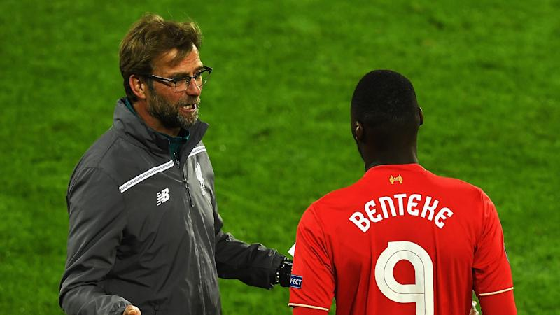 Benteke calls Klopp 'the best manager I worked with'