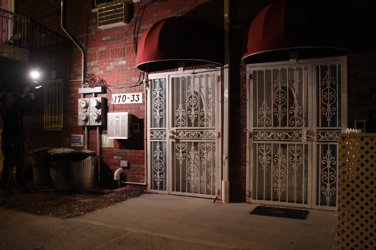 This is residence of Quazi Mohammed Rezwanul Ahsan Nafis, the alleged Federal Reserve plot suspect who was arrested after attempting to blow up a fake car bomb outside the Federal Reserve building in Manhattan, on Wednesday, Oct. 17, 2012 in New York. Authorities say Nafis, a Bangladeshi man came to the United States to wage jihad, but was arrested in an elaborate FBI sting Wednesday in New York. (AP Photo/Kathy Willens)
