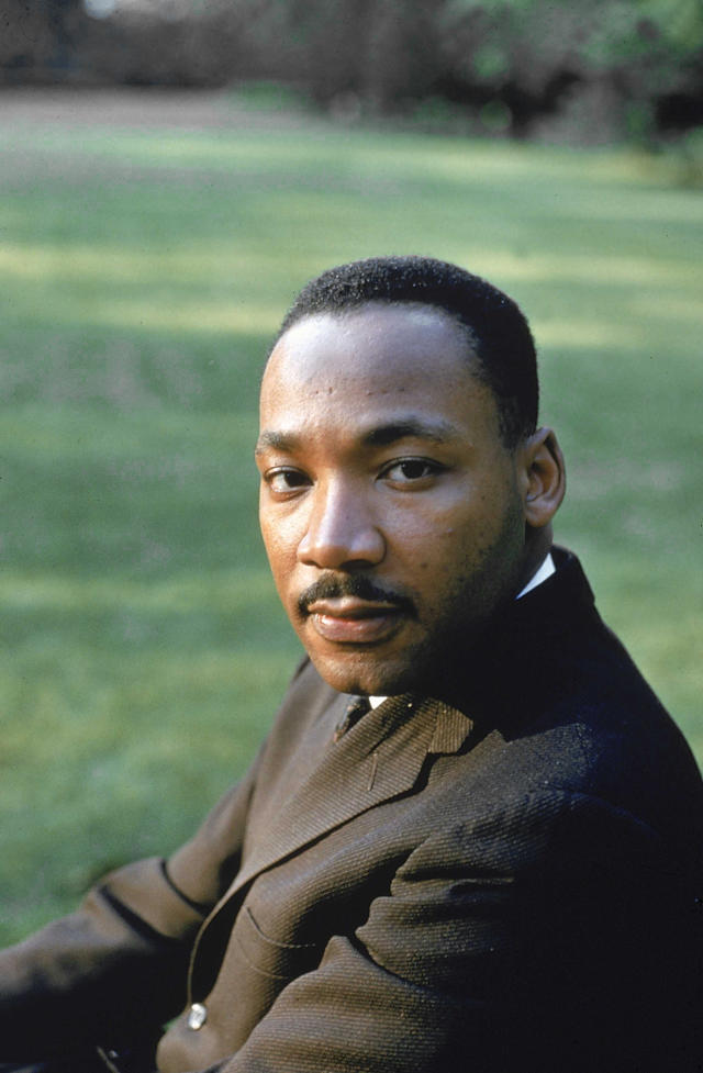 <p>Dr. King was a leading figure in the civil rights struggle in the 1960s, until he was assassinated in 1968, and his legacy lives on today. He attended Morehouse College. (Photo: Getty Images) </p>