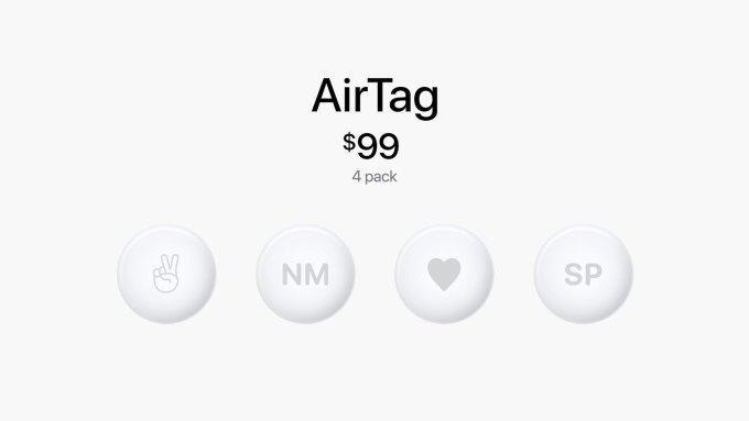 apple airtag $99 4 pack