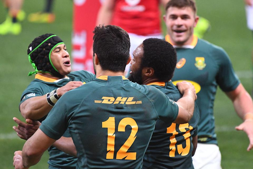 South Africa levelled the Test series at 1-1 with a deserved victory over the Lions in Cape Town (AFP via Getty Images)