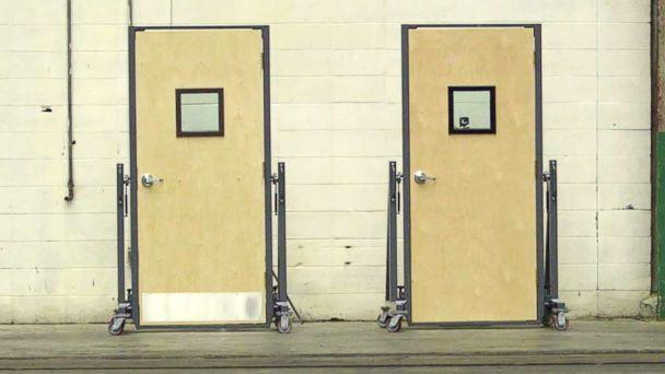 PHOTO: Bulletproof doors are pictured in this undated photo. (2P Innovations)