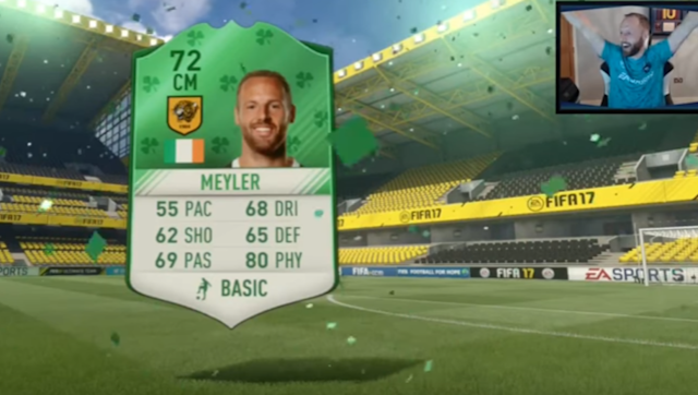 ​By now, most FIFA 17 enthusiasts know about Hull City midfielder David Meyler's FUT streaming activities. The 27-year-old Irishman is quite good at FIFA, and has been serving up defeats to top gamers from all over this season, using mostly a squad comprised of Hull players. Meyler is apparently the only footballer uploading videos both to YouTube and on Twitch. According to Twitch, he streams on a Monday, Tuesday, Wednesday, Thursday and Sunday every week. This week, FIFA released several...