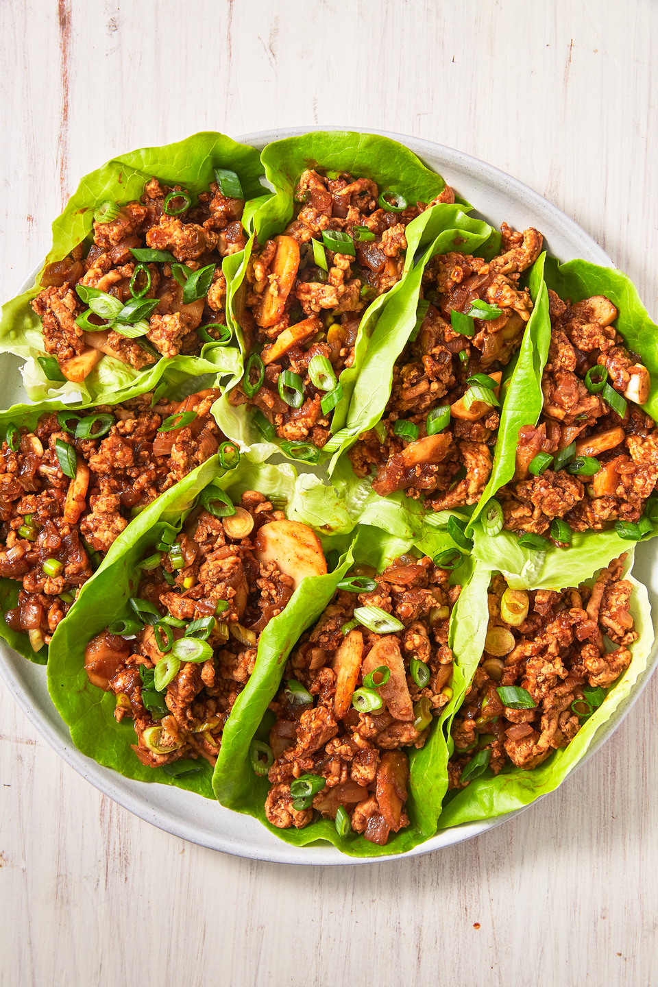 """<p>Watch your back, P.F. Chang's!</p><p>Get the recipe from <a href=""""https://www.delish.com/cooking/recipe-ideas/recipes/a49533/asian-lettuce-wraps-recipe/"""" rel=""""nofollow noopener"""" target=""""_blank"""" data-ylk=""""slk:Delish"""" class=""""link rapid-noclick-resp"""">Delish</a>. </p>"""