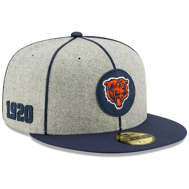 Chicago Bears 2019 Fitted Hat