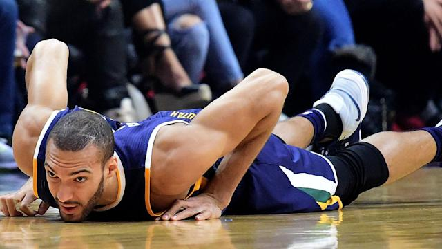 Jazz will be without center Rudy Gobert for at least a month.