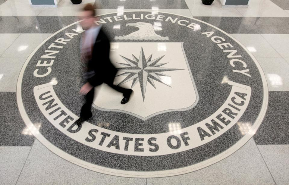 The lobby of the CIA headquarters building in Langley, Virginia.  (Larry Downing / Reuters)