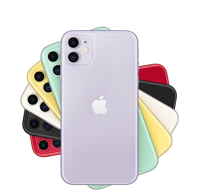 Apple's iPhone 11 starts at just $699, has the same processor as the iPhone 11 Pro, and offers a dual-camera setup. (Image: Apple)
