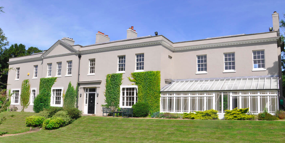 The 18th century home boasts an impressive six bedrooms and bathrooms. Source: Dancers Hill House