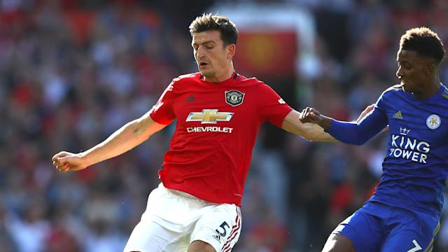 The defensive duo led Man United to their second clean sheet of the season in the win against Leicester at Old Trafford