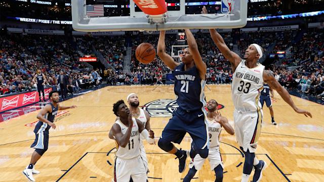 <p>Deyonta Davis played one season at Michigan State and was selected 31st overall in the 2016 draft...</p>