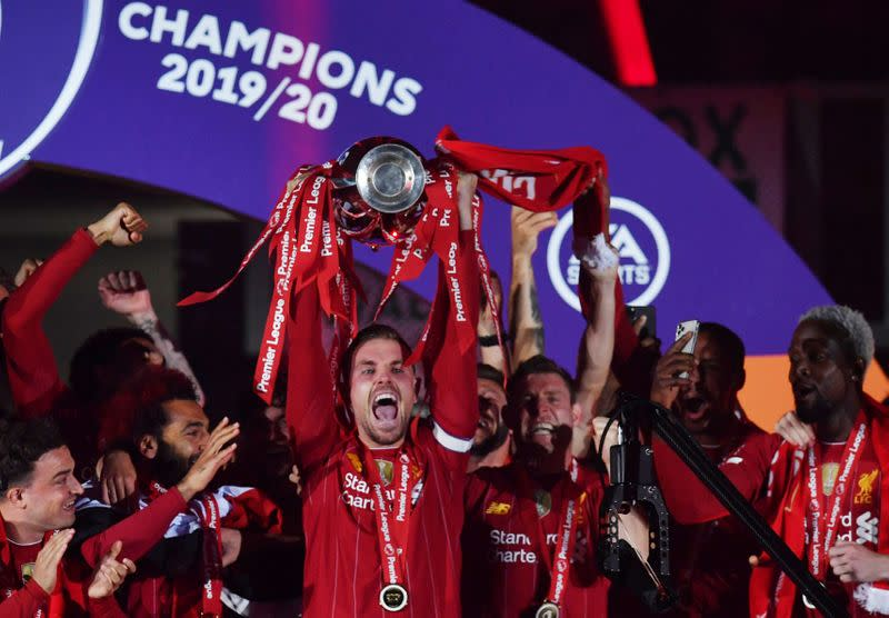 Liverpool still hungry for success, says Henderson