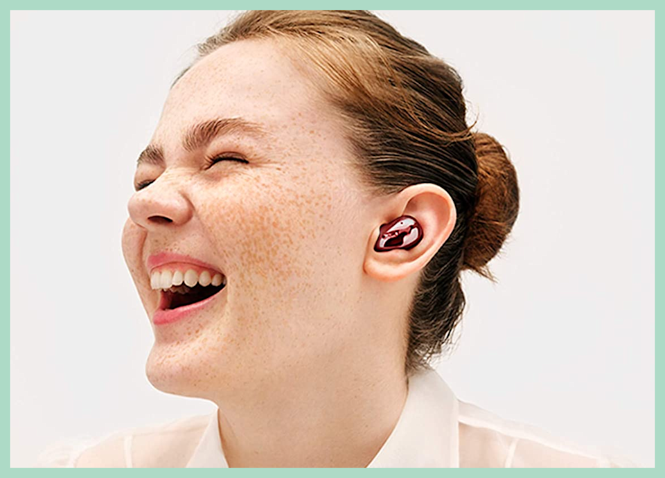 Red is our favorite color — rock these Samsung Galaxy Buds Live for just $128 (down from $170). (Photo: Amazon)