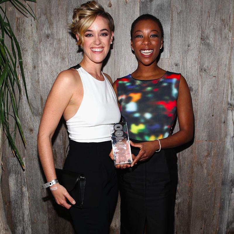"Samira Wiley and Lauren Morelli Open Up About Their ""Magical"" Engagement Story"
