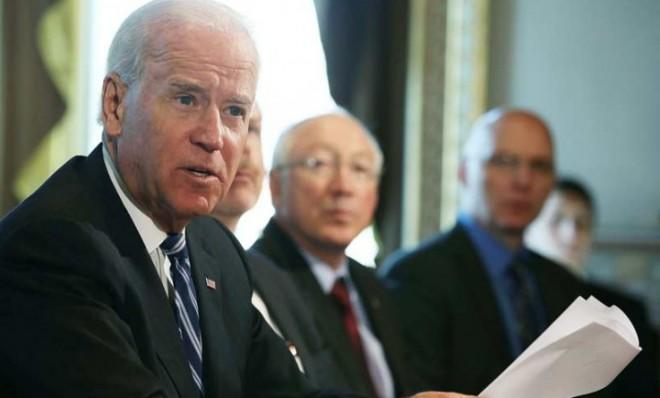 Vice President Joe Biden meets with gun interest groups on Jan. 10.
