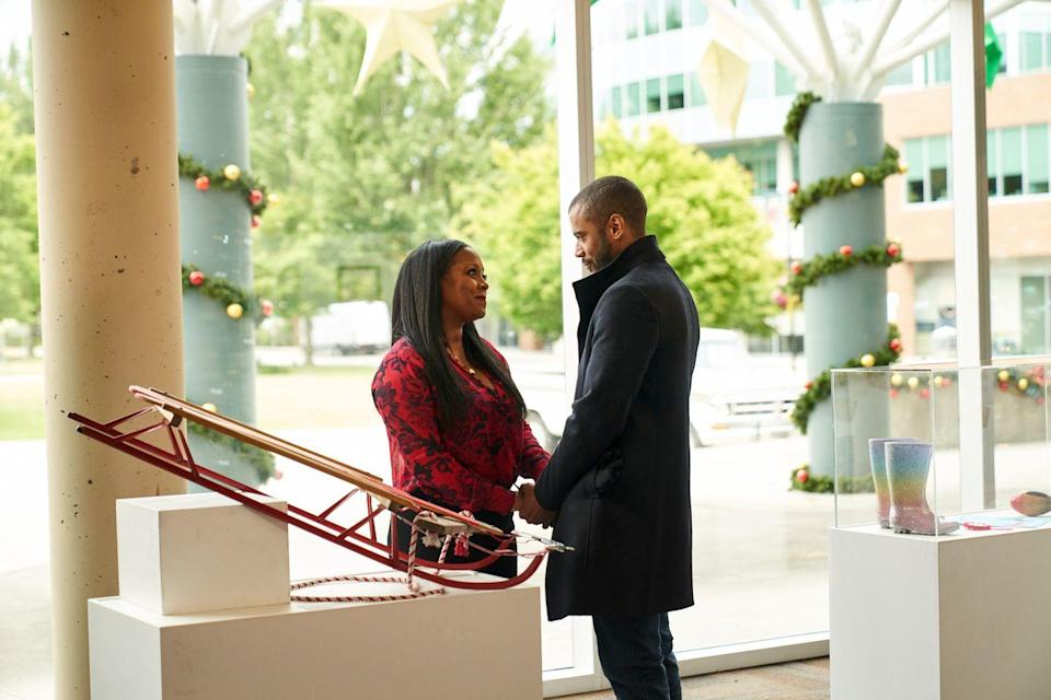 <p><strong>Sunday, November 1 at 8 p.m.</strong></p><p>Rebecca Knight (played by <strong>Keshia Knight Pulliam</strong>) isn't expecting much from her return home. Although she's busy taking care of her niece and nephew, she finds time to reunite with her childhood best friend, Drew (played by <strong>Jarod Joseph</strong>). The two of them revisit their favorite childhood activity — 12 Days of Christmas — and find something special along the way: love! </p>