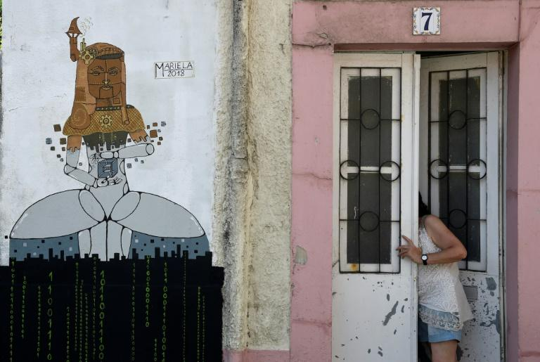 Murals by Spanish and foreign artists are the basis for a festival that has breathed new life into a struggling area of the northwestern town of Ferrol
