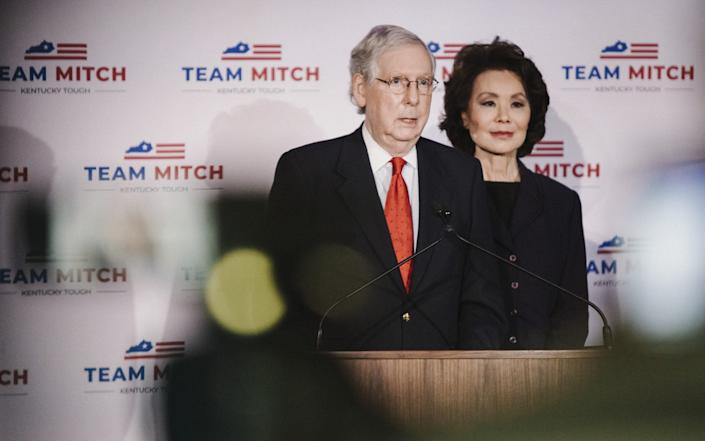 Mitch McConnell said his re-election was proof that Kentucky had rejected socialism - BLOOMBERG