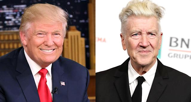 Donald Trump might not love David Lynch anymore. (Photo: Getty Images)