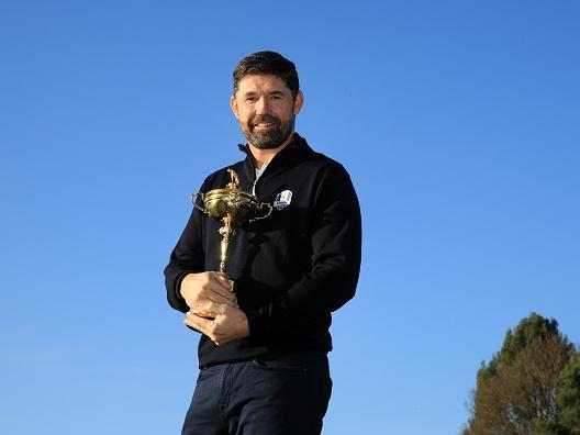Golf's open-secret was finally confirmed when Padraig Harrington was unveiled as Europe's Ryder Cup captain on Tuesday (Getty)