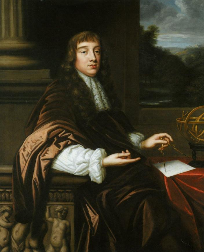 "<span class=""caption"">Known as Mary Beale's 'Portrait of a Mathematician,' could the circa 1680 painting depict Hooke?</span> <span class=""attribution""><a class=""link rapid-noclick-resp"" href=""https://research.tamu.edu/2019/10/02/has-an-am-biologist-found-one-of-the-holy-grails-of-science-history/"" rel=""nofollow noopener"" target=""_blank"" data-ylk=""slk:Mary Beale"">Mary Beale</a>, <a class=""link rapid-noclick-resp"" href=""http://creativecommons.org/licenses/by/4.0/"" rel=""nofollow noopener"" target=""_blank"" data-ylk=""slk:CC BY"">CC BY</a></span>"
