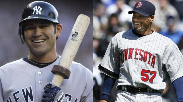 Johnny Damon and Johan Santana will not get a second chance on the Hall of Fame ballot. (AP)