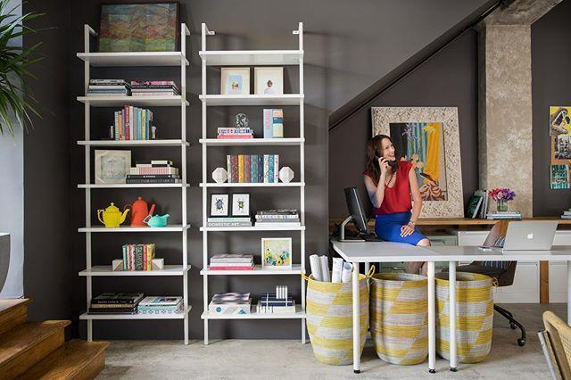 "<p>Practical and pretty, sometimes you need your shelving to do some serious heavy lifting. Ideal in an office or, if you're trying to organize a large book collection, two shelves right next to each other are better than one. </p><p><a href=""https://www.instagram.com/p/CFxHAXxpGOo/"" rel=""nofollow noopener"" target=""_blank"" data-ylk=""slk:See the original post on Instagram"" class=""link rapid-noclick-resp"">See the original post on Instagram</a></p>"
