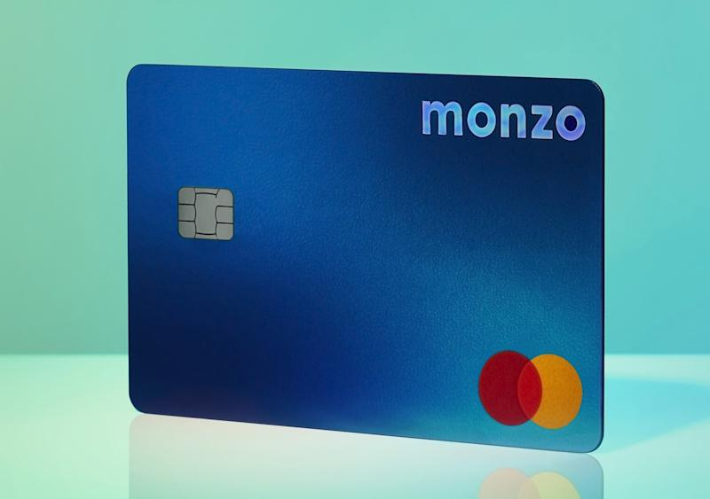 The new Monzo plus card. Photo: Monzo