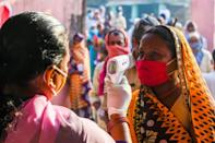 Voting in the Indian state Bihar has been split across three days -- Wednesday, November 3 and November 7 -- to reduce crowding at booths