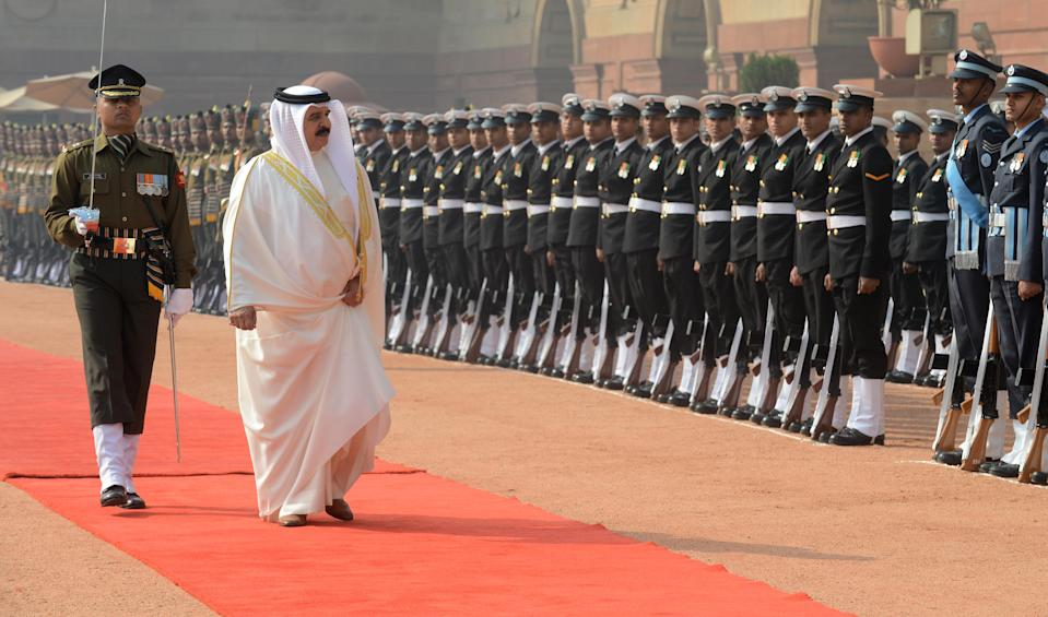 <p>HM King Hamad bin Isa is the King of Bahrain and the country has been ruled by the Al Khalifa dynasty since 1783. The royal has a total of four wives and twelve children, seven sons and five daughters. <em>[Photo: Getty]</em> </p>