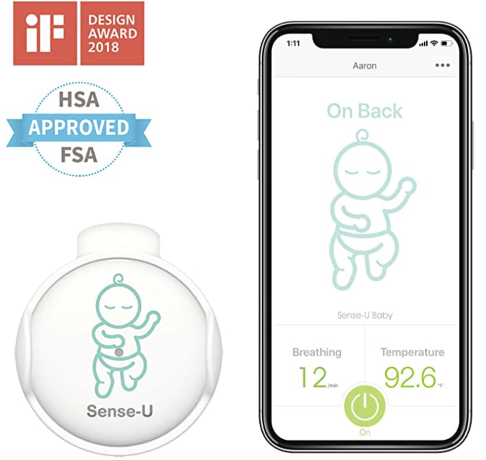 Sense-U Baby Monitor. PHOTO: Amazon