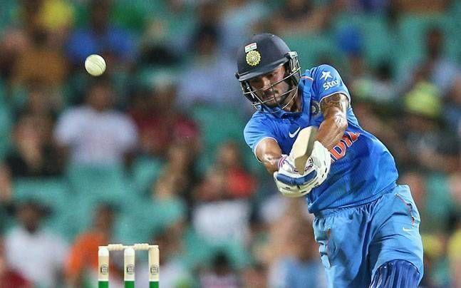Manish Pandey playing only in his fourth ODI scored a match-winning hundred for India