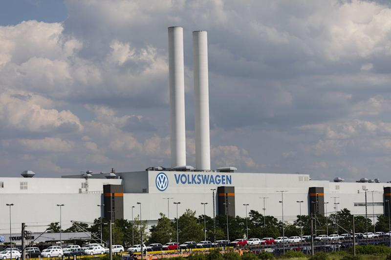 Merkel Cheers VW's Electric Push Amid Growing Climate Critique