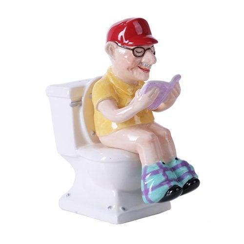 <p>This <span>Pacific Giftware Reading Grandpa on Toilet Magnetic Salt and Pepper Shaker</span> ($14, originally $27) will look great on anyone's dining table.</p>