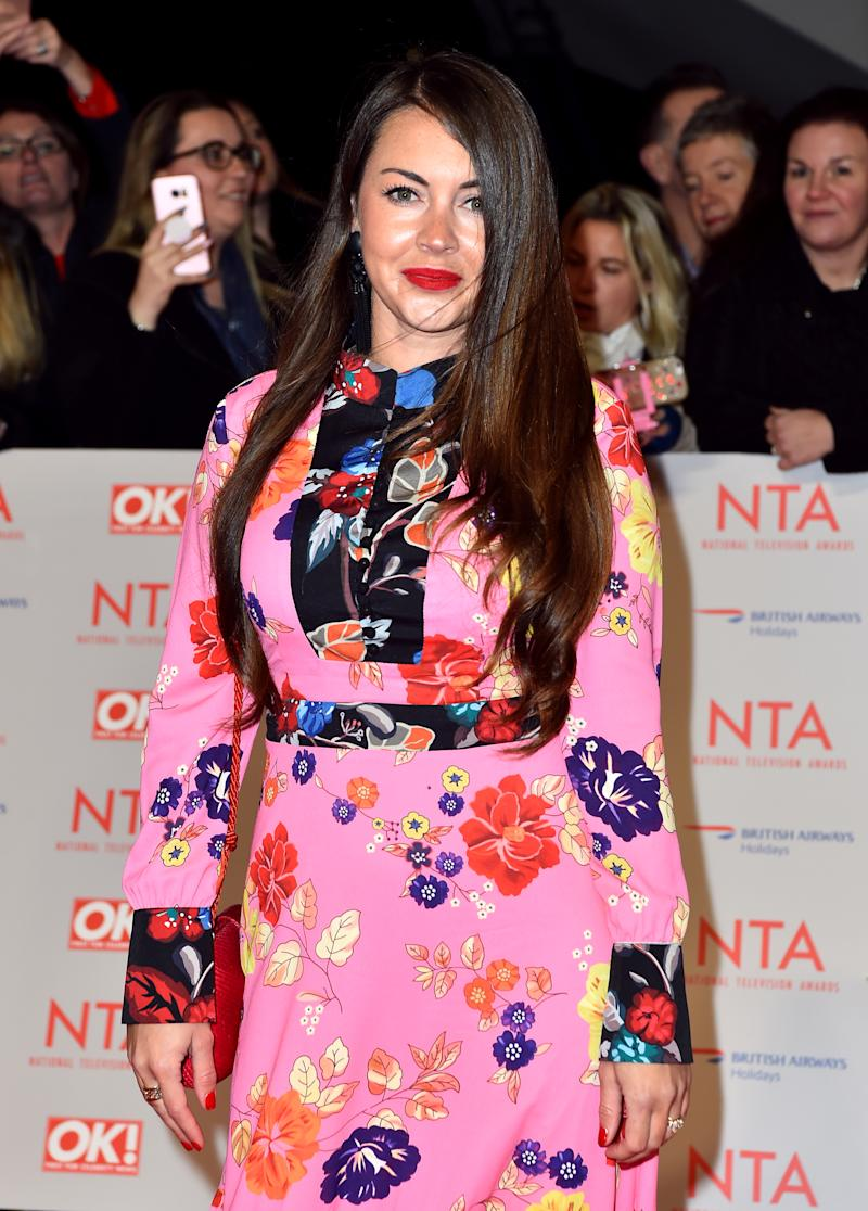 Lacey Turner attending the National Television Awards 2018 held at the O2 Arena, London. PRESS ASSOCIATION Photo. Picture date: Tuesday January 23, 2018. See PA story SHOWBIZ NTAs. Photo credit should read: Matt Crossick/PA Wire