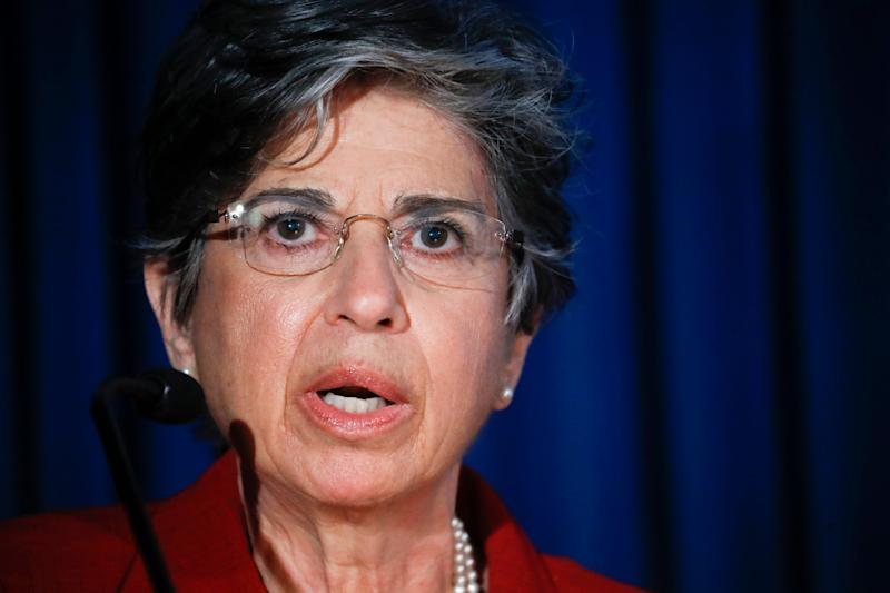 Audrey Strauss, acting US attorney for the southern district of New York (AP)
