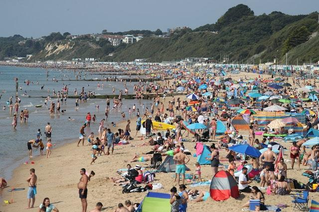 Bournemouth saw another busy day on Sunday