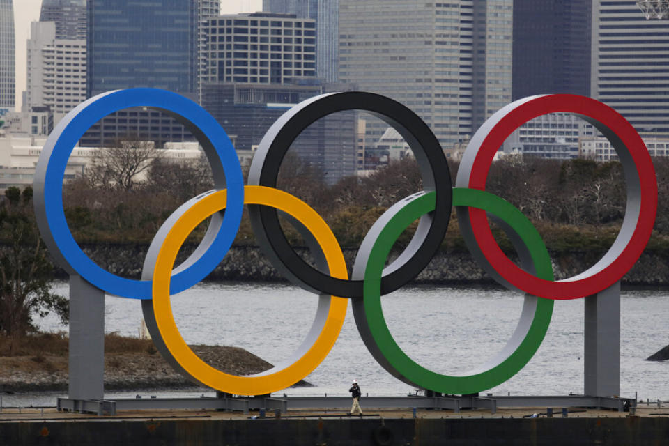 Olympians were being outed at the Tokyo Olympics, which could potentially put them in danger. (AP Photo/Jae C. Hong)