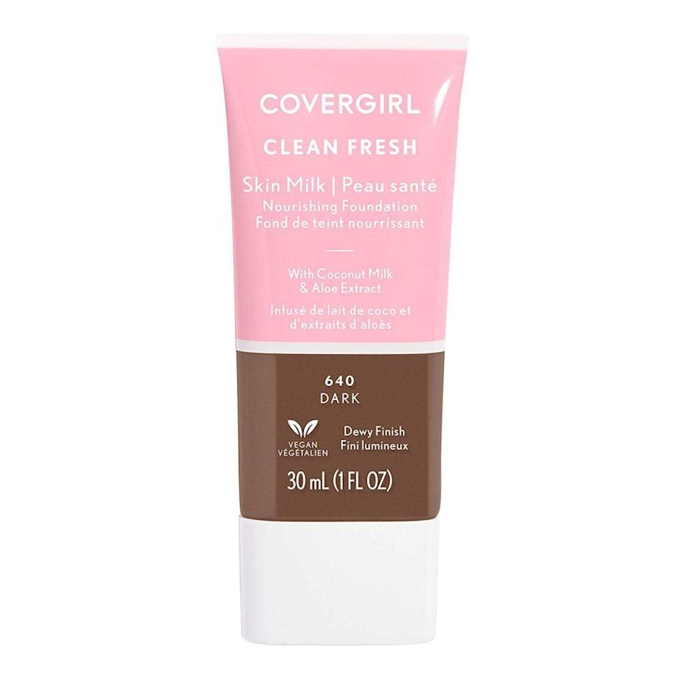 """<p><em>Allure</em> staff writer Nicola Dall'Asen lists CoverGirl Clean Fresh Skin Milks as one of her biggest summer must-haves. """"It's basically what would happen if a light-coverage foundation and a BB cream had a baby,"""" she says. """"It has just enough coverage to even out the skin ton, but not so much that your face look visibly different.""""</p> <p><strong>$12</strong> (<a href=""""https://www.amazon.com/Covergirl-Clean-Fresh-Light-Medium/dp/B07YX87N7R"""" rel=""""nofollow noopener"""" target=""""_blank"""" data-ylk=""""slk:Shop Now"""" class=""""link rapid-noclick-resp"""">Shop Now</a>)</p>"""