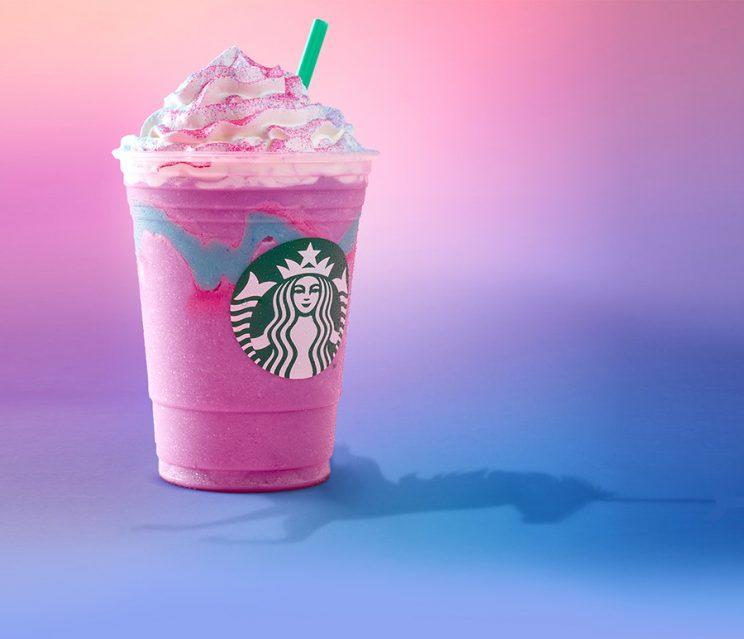 strabucks unicorn frappuccino