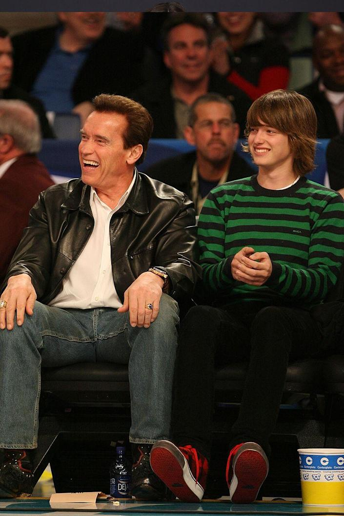 <p>The oldest son of movie-legend-turned-politician Arnold Schwarzenegger and ex-wife Maria Shriver, Patrick Schwarzenegger was born on September 18, 1993.</p>