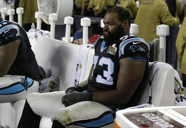 "<a class=""link rapid-noclick-resp"" href=""/nfl/players/9287/"" data-ylk=""slk:Michael Oher"">Michael Oher</a> was cited for misdemeanor assault in Nashville. (AP)"